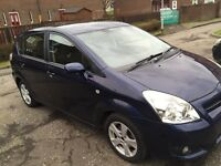 TOYOTA COROLLA VERSO 2007++7 SEATER FULL YEAR MOT EXCELLENT CONDITION