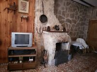 A village home in Spanish mountains to let