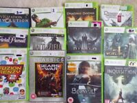 selection of Xbox 360 Games - good condition