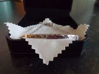 *NEW* NINASUN 'I LOVE YOU TO THE MOON AND BACK' 925 STERLING SILVER BRACELET