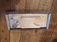 Wood Parma / Serrano ham stand