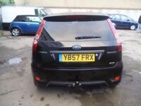 Ford FIESTA Sport TDCI Van,FSH,2 previous owners,2 keys,half leather seats,runs and drives well,