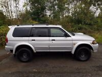 L@@K BARGAIN!! Mitsubishi Shogun Sport**2.5 Turbo Diesel**4x4**Towbar*Leather**