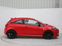 2015 reg Corsa Limited Edition Red 1400 cc , beautiful car, light Cat D repair MINT CONDITION