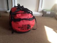 NORTH FACE Duffle Bag. Large 95 litres. Red. GOOD CONDITION