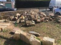 6 tonne of sandstone