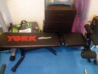 York Weights Exercise Bench