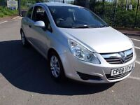 2008 VAUXHALL CORSA BREEZE 1.0 ONLY 41000m WITH HISTORY IDEAL FIRST CAR LOW INSURANCE PX WELCOME