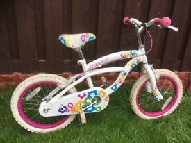 """Girls 16"""" bike huffy like new can deliver for a small charge"""