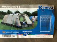 Excellent Large Family Tent (6 berth) - used once.