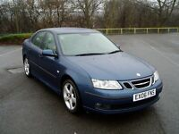 2006 Saab 9-3 Vector 1.9Tid. Full Service History. Mot August. 6 Speed . Full Leather. Saab 93.