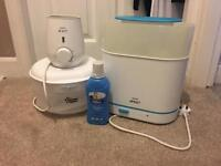 Avent 3 in 1 steriliser, bottle/food warmer and travel steriliser