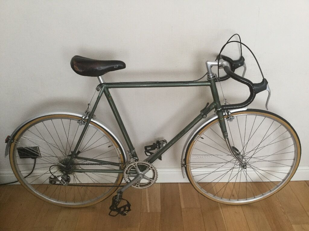 Vintage Raleigh Royal Reynolds 531 Handbuild Touring Bike