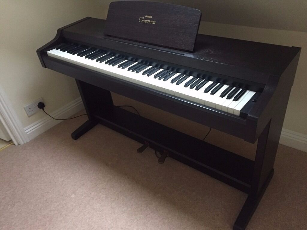 yamaha clavinova model number clp 810s electric piano. Black Bedroom Furniture Sets. Home Design Ideas
