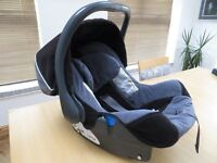 Britax first size, rear facing, car seat.