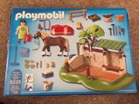 Playmobil 5225 country pony farm and pony care station
