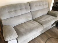 Sofas & footstool CAN DELIVER