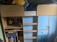 High cabin bed