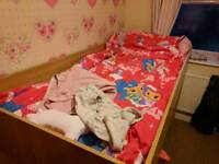 single bed with underneath storage