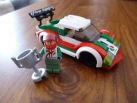 LEGO City 60053 Racing Car (includes original Driver & Trophy)