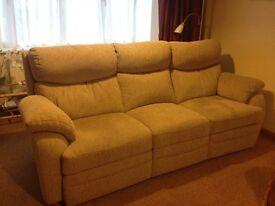 Sofa, 3 seater, power recliner