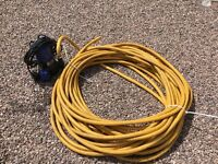 Float pump and approx 30 meters of 1 inch hose