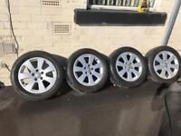 Quick sale.16 Audi wheels,passat.seat.skoda.