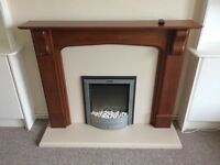 Electric Fire & Surround