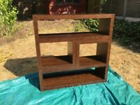 Excellent condition Next furniture. Mango wood effect. Couple of scratches/chips as shown in photos