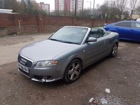 Audi A4 Sline Convertable 2006, 2 litre petrol Turbo 198bhp Just had full service 12 months MOT