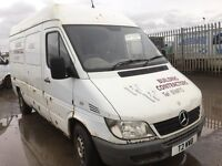 Mercedes sprinter 311cdi mwb high top parts available