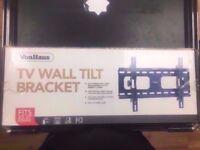 VON HAUS TV WALL TILT BRACKET BRAND NEW WITH RECEIPT