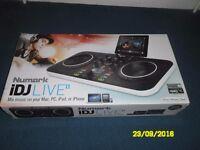 iDJ LIVE NEW IN BOX
