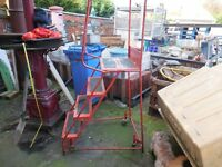 Ladders platform mobile industrial chaddesden Derby