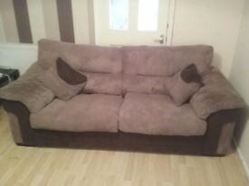 Open to sensible offers as nned gone Immaculate condition 3 seater sofa very comfy