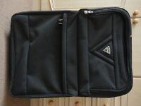 Antler Grey Suitcase Medium 2 Wheels Telescopic Handle Pull Case 66cm Expandable