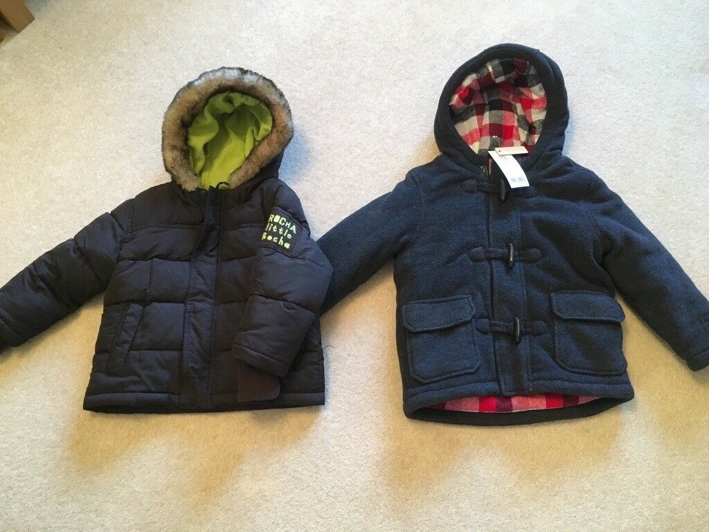 807ce3483 Boys Coats - Size 3-4 Years