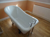 Traditional Free Standing Roll Top Slipper Bath