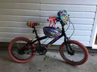 Girl's bike age 6-9 + helmet