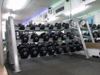 commercial gym dumbbells