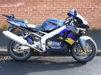 1997 Kawasaki ZX6R, only 12500 miles, 4 prev owners £1295