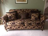 Sofas pair 2 & 3 seater will seperate