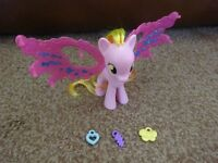 My Little Pony Honey Rays Cutie Mark Magic Friendship Charm Wings Playset as New £3 ideal gift
