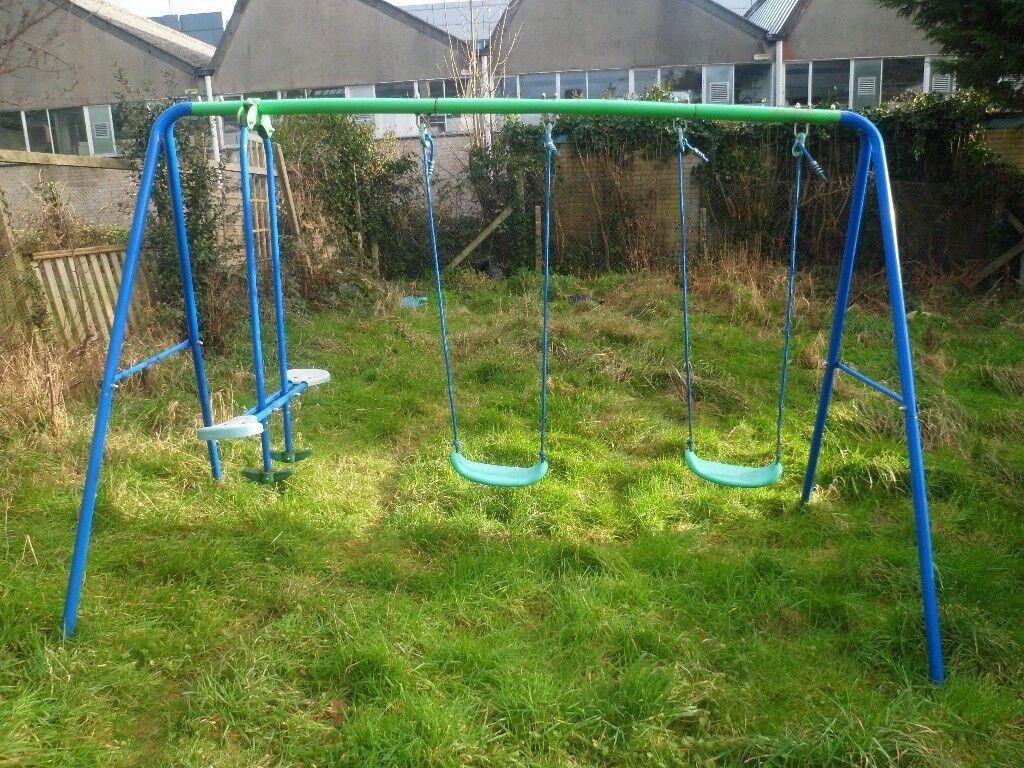 Garden Multi Swings And Seesaw Set 20 In Poole Dorset Gumtree