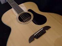 Lovely Alverez ABT60E 6 String Baritone.