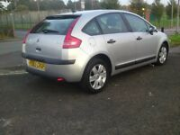 2005/55 citroen c4 sx AUTOMATIC