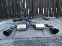 Miltek exhaust Ford Focus st/rs