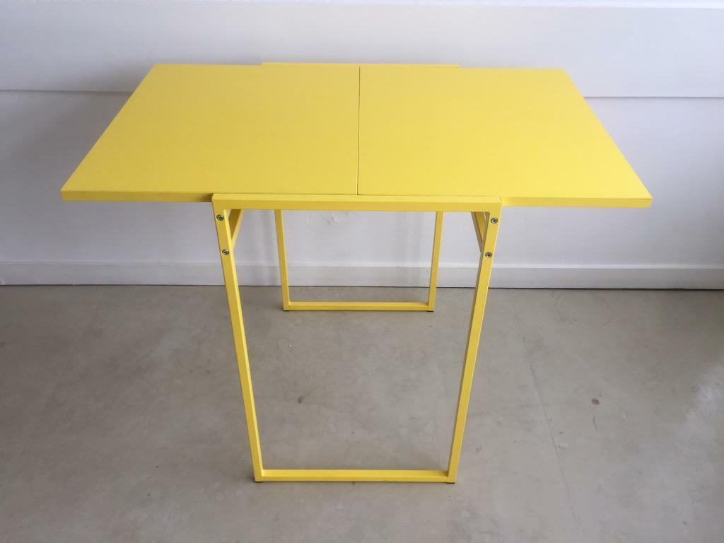 Ikea Muddus Drop Leaf Table Yellow In City Of London Gumtree