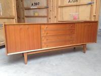 Vintage retro teak sideboard Danish style