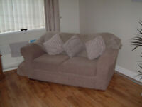 2 SEATER NEXT SOFA MINK IN COLOUR